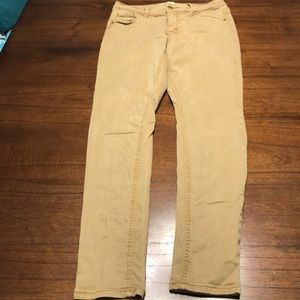 Old Navy Khaki Jeans Size 2